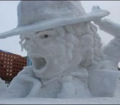 Incredible snow sculptures Part 2