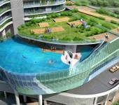 Crazy Balcony Pools