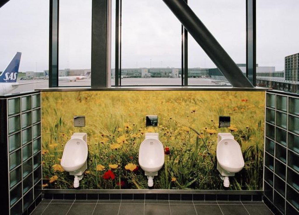 Incredible urinals around the world