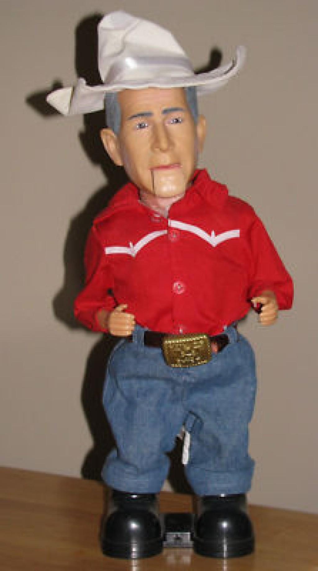 George Bush Doll