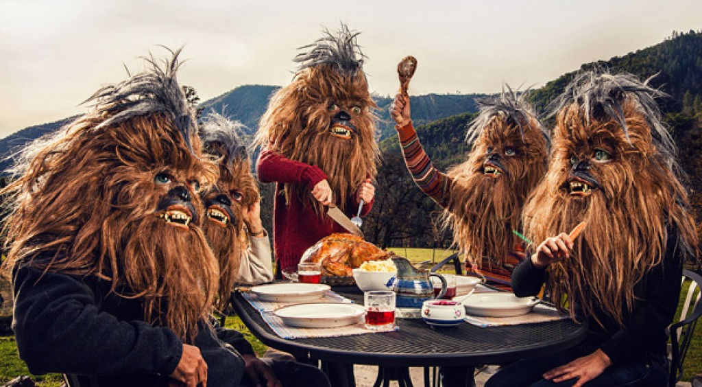 One fun day in the life of a Wookie