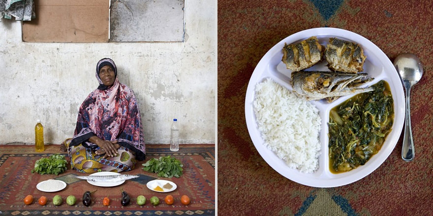 Grandmothers cooking around the world