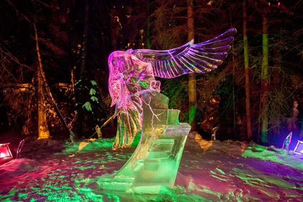 Other incredible ice sculptures worldwide