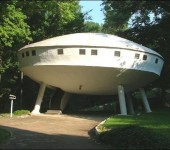 UFO shaped buildings