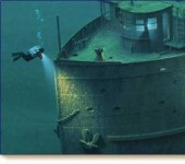 Amazingly preserved shipwrecks
