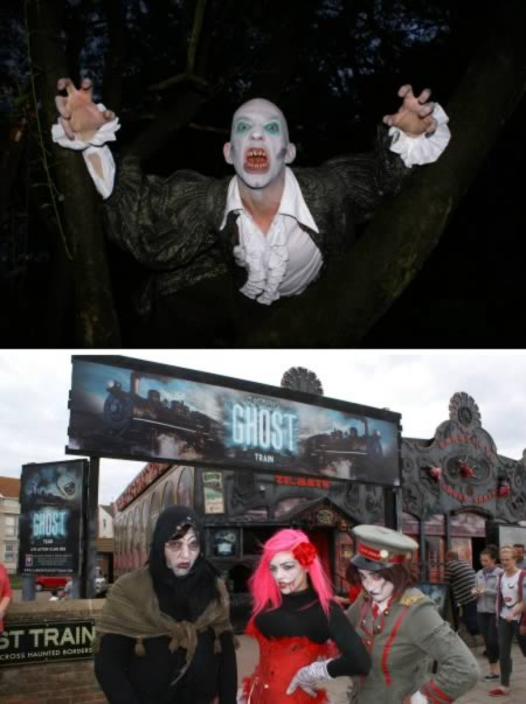 Top 8 Scariest Attractions