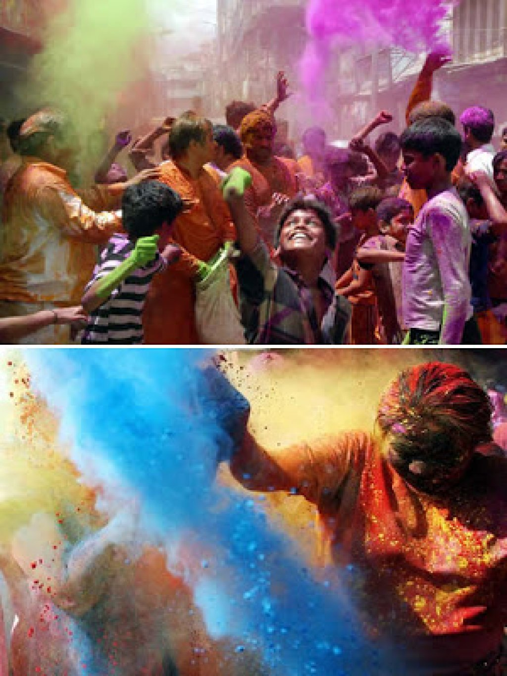 Holi-The Colours Festival in India