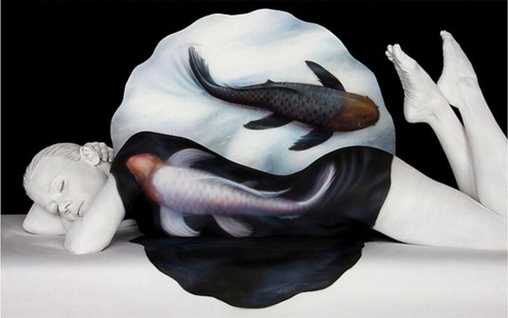 Wonderful Body Painting Art