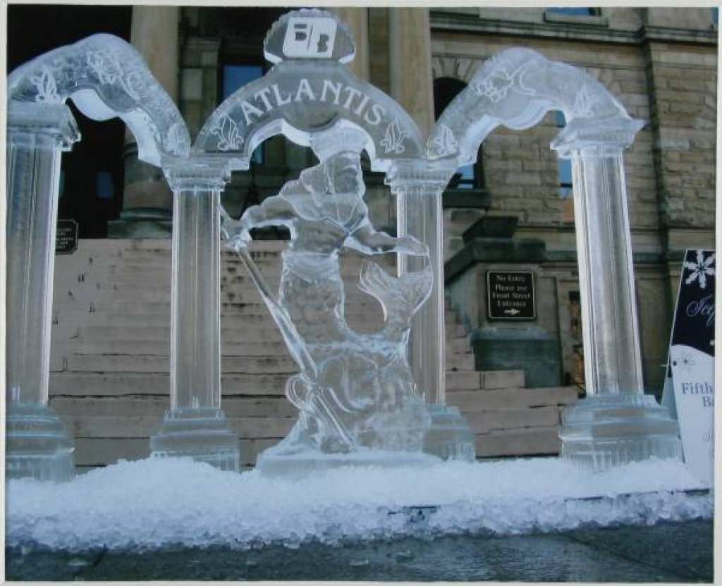 Incredible ice sculptures and ice carving-Part 2